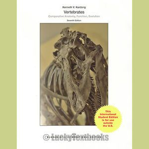 Vertebrates: Comparative Anatomy, Function, Evolution, 7th ed.