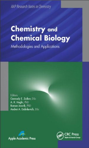 Chemistry and Chemical Biology: Methodologies and Applications. 2014