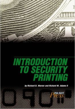 Introduction to Security Printing