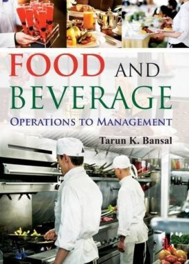 Food and Beverage: Operations to Management   (TX911 B 2016)