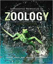 Integrated principles of zoology.  QL47.2 I61h  2014