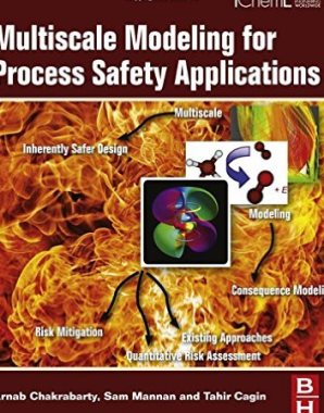 Multiscale modeling for process safety applications   TA342 M 2016